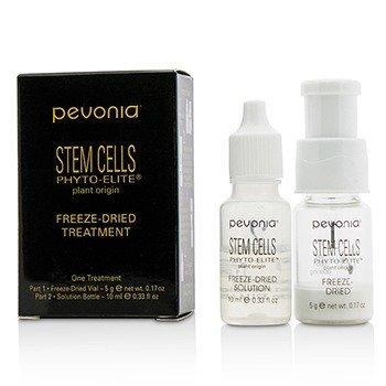 Pevonia Botanica Stem Cells Phyto-Elite Freeze-Dried Treatment: Freeze-Dried Vial 5g + Solution Bottle 10ml (Salon Product)  2pcs