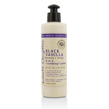 קרולס דוטר Black Vanilla Moisture & Shine 4-in-1 Combing Creme (For Dry, Dull or Brittle Hair)  236ml/8oz