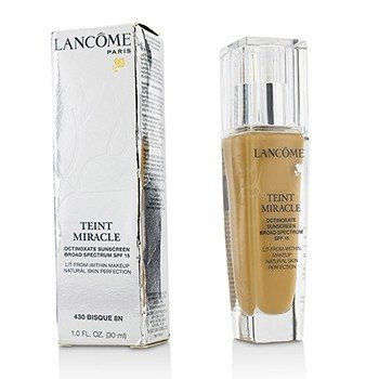 Lancome Teint Miracle Natural Skin Perfection SPF 15 - # 430 Bisque 8N (Box Slightly Damaged, US Version)  30ml/1oz
