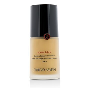 Giorgio Armani Power Fabric Longwear High Cover Foundation SPF 25 - # 4 (Fair, Warm)  30ml/1oz