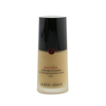 Giorgio Armani Power Fabric Longwear High Cover Foundation SPF 25 - # 4.5 (Light, Golden)  30ml/1oz