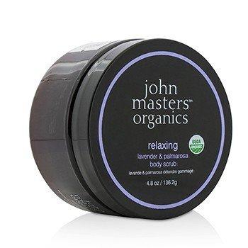 John Masters Organics Lavender & Palmarosa Body Scrub Relaxing  136.2g/4.8oz