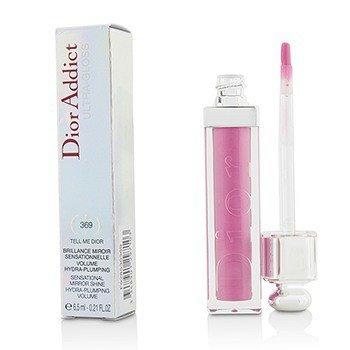 Christian Dior Dior Addict Ultra Gloss (Sensational Mirror Shine) - No. 369 Tell Me Dior  6.5ml/0.21oz