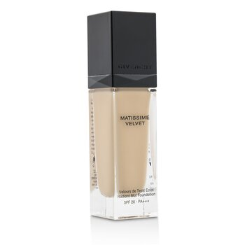 Givenchy Matissime Velvet Radiant Mat Fluid Foundation SPF 20 - #02 Mat Shell  30ml/1oz