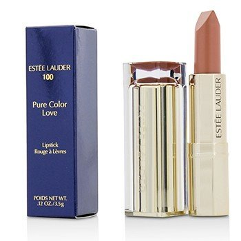 Estee Lauder Pure Color Love Lipstick - #100 Blasé Buff  3.5g/0.12oz