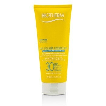 Biotherm Lait Solaire Hydratant Leche Anti-Secante SPF 30 - For Face & Body  200ml/6.76oz
