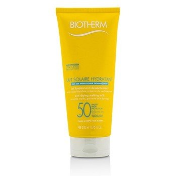 Biotherm Lait Solaire Hydratant Leche Anti-Secante SPF 50 - For Face & Body  200ml/6.76oz