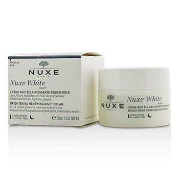 Nuxe Nuxe White Nuit Brightening Renewing Night Cream - All Skin Types  50ml/1.5oz