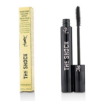 Yves Saint Laurent The Shock Máscara Efecto Volumen Faux Cils A Prueba de Agua - (Black)  6.5ml/0.22oz