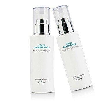 Laura Geller Aqua Elements Thermal Cleansing Gel Duo Pack  2x125ml/4.2oz