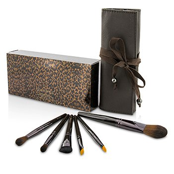 ローラメルシエ Brush It On Luxe Brush Collection (6x Brush, 1x Case)  6pcs+1case