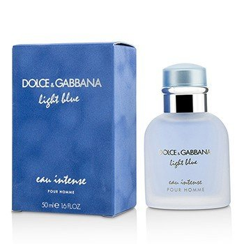 Dolce & Gabbana Light Blue Eau Intense Pour Homme Eau De Parfum Spray  50ml/1.6oz