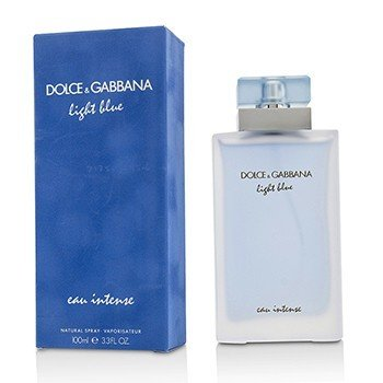 Dolce & Gabbana Light Blue Eau Intense Eau De Parfum Spray  100ml/3.3oz