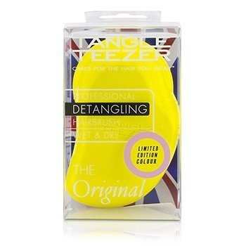 タングルティーザー The Original Detangling Hair Brush - # Lemon Sherbet (For Wet & Dry Hair)  1pc