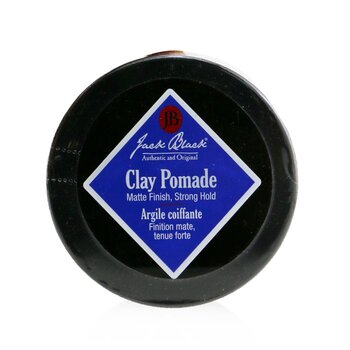 Jack Black Clay Pomade (Matte Finish, Strong Hold)  77g/2.75oz