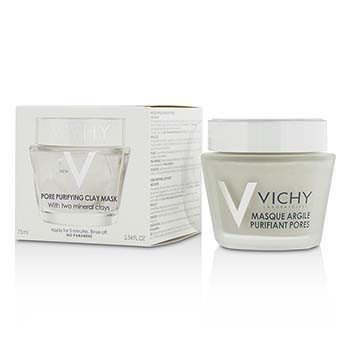 Vichy Pore Purifying Clay Mask w/ Two Mineral Clays  75ml/2.54oz
