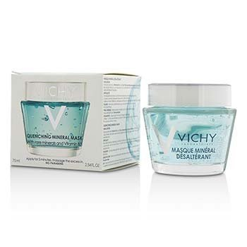 Vichy Quenching Mineral Mask w/ Rare Minerals & Vitamin B3  75ml/2.54oz