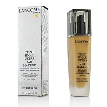 Lancome Teint Idole Ultra 24H Wear & Comfort Foundation SPF 15 - # 380 Bisque W (US Version)  30ml/1oz