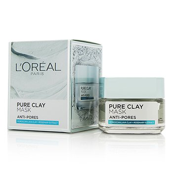 L'Oreal Pure Clay Anti-Pores Mask  50g/1.7oz