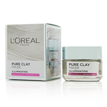 L'Oreal Pure Clay Illuminating Mask  50g/1.7oz
