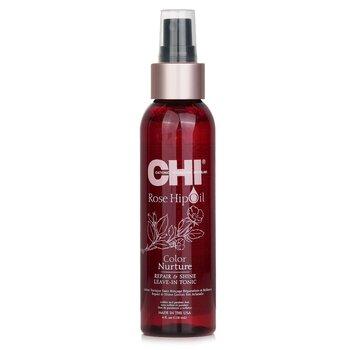 CHI Rose Hip Oil Color Nurture Repair & Shine Leave-In Tonic  118ml/4oz