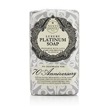 Nesti Dante 7070 Anniversary Luxury Platinum Soap With Precious Platinum (Limited Edition)  250g/8.8oz