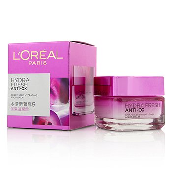 L'Oreal بلسم مرطب مائي ببزر العنب Hydrafresh Anti-Ox  50ml/1.7oz