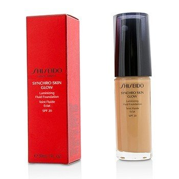 Shiseido Synchro Skin Glow Luminizing Fluid Foundation SPF 20 - # Rose 4  30ml/1oz