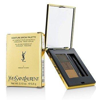 Yves Saint Laurent Couture Paleta de Cejas - #2 Medium To Dark  3.8g/0.13oz