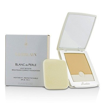 Guerlain Blanc De Perle Light Booster Brightening Compact Foundation SPF 20 - # 01 Beige Pale  8.5g/0.29oz