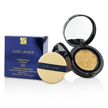 Estee Lauder Double Wear Cushion BB All Day Wear Liquid Compact SPF 50 - # 2W0 Warm Vanilla  12g/0.42oz
