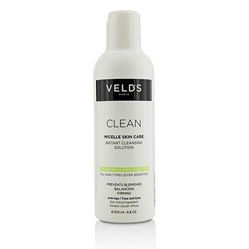 苇芝  Clean Micelle Skin Care Instant Cleansing Solution - All Skin Types (Even Sensitive)  200ml/6.8oz