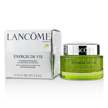 Lancome Energie De Vie The Illuminating & Purifying Exfoliating Mask - All Skin Types, Even Sensitive  75ml/2.6oz