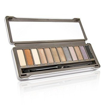 BYS Eyeshadow Palette (12x Eyeshadow, 2x Applicator) - Nude 2  12g/0.42oz