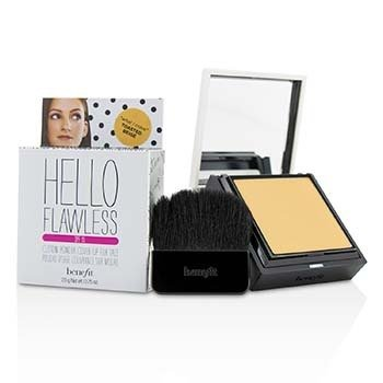 Benefit Hello Flawless! Custom Powder Cover Up For Face SPF15 - # What I Crave (Toasted Beige)  7g/0.25oz