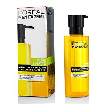 L'Oreal Men Expert Pure & Matte Desert Clay Watery Lotion  120ml/4.06oz
