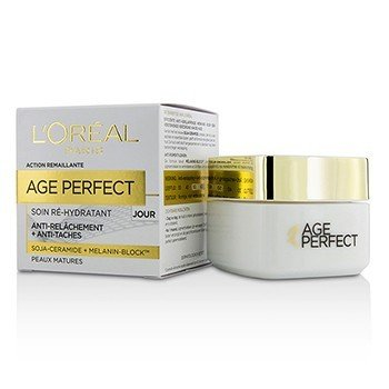 L'Oreal Age Perfect Re-Hydrating Day Cream - For Mature Skin  50ml/1.7oz