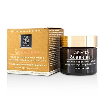 Apivita Queen Bee Holistic Crema Defensa de Edad Textura Rica  50ml/1.73oz