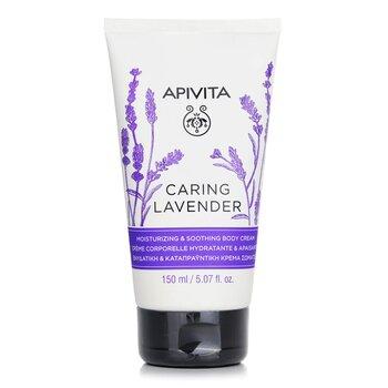 Apivita Caring Lavender Crema Corporal Hidratante & Calmante  150ml/4.74oz
