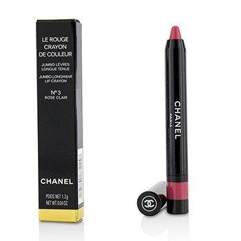 Chanel Le Rouge Crayon De Couleur Jumbo Longwear Lip Crayon - # 3 Rose Clair  1.2g/0.04oz