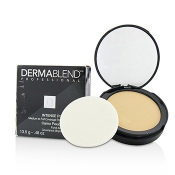 Dermablend Intense Powder Camo Compact Foundation (Medium Buildable to High Coverage) - # Ivory (Box Slightly Damaged)  13.5g/0.48oz
