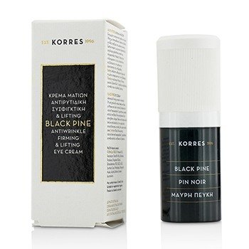 Korres Black Pine Crema de Ojos Anti-Arrugas, Reafirmante & Lifting  15ml/0.51oz