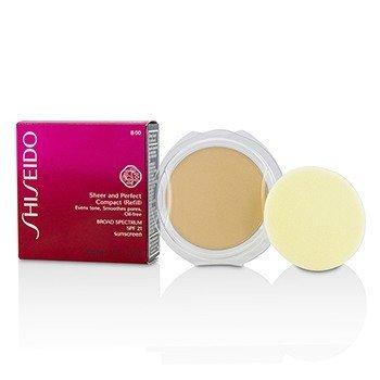 Shiseido Sheer & Perfect Compact Foundation SPF 21 (Refill) - # B00 Very Light Beige  10g/0.35oz