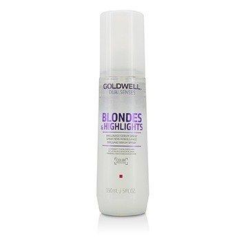 Goldwell Dual Senses Blondes & Highlights Brilliance Serum Spray (Luminosity For Blonde Hair)  150ml/5oz