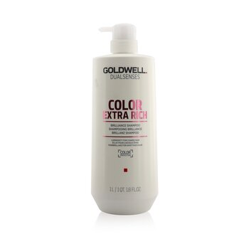 Goldwell Dual Senses Color Champú Brillo Extra Rico (Luminosidad Para Cabello Áspero)  1000ml/33.8oz