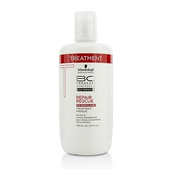 施華蔻  BC Repair Rescue Reversilane Treatment Masque (For Fine to Normal Damaged Hair)  750ml/25.5oz