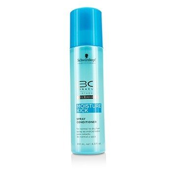 שוורצקופף BC Moisture Kick Spray Conditioner (For Normal to Dry Hair)  200ml/6.8oz