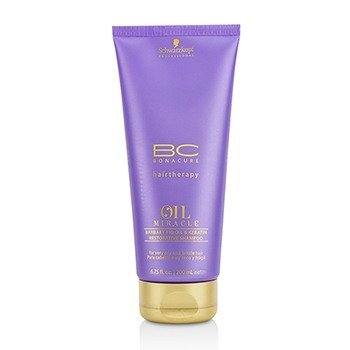 Schwarzkopf Szampon do włosów BC Oil Miracle Barbary Fig Oil & Keratin Restorative Shampoo (For Very Dry and Brittle Hair)  200ml/6.75oz