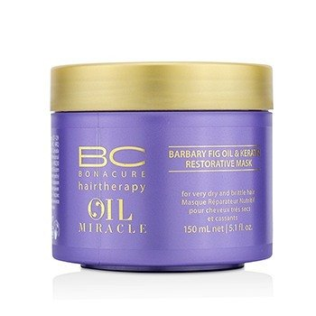 Schwarzkopf Maska do włosów BC Oil Miracle Barbary Fig Oil & Keratin Restorative Mask (For Very Dry and Brittle Hair)  150ml/5.1oz