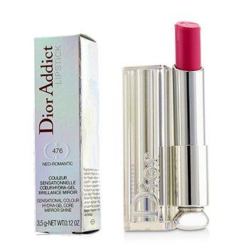 Christian Dior Dior Addict Hydra Gel Core Mirror Shine Lipstick - #476 Neo Romantic  3.5g/0.12oz
